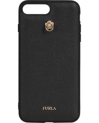 Furla Iphone Plus Case - Black
