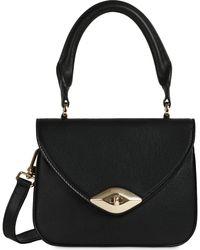 Furla Eye Mini Top Handle Bag - Black