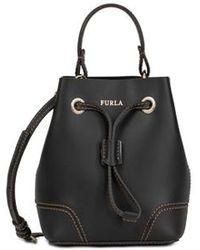 Furla - Mini Bucket Bag Onyx - Lyst