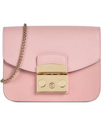 Furla METROPOLIS mini borsa a bandoliera pink h - Rosa