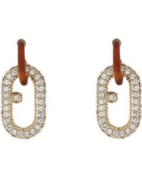 Furla Earrings - Metallic