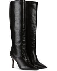 Furla High Boots - Black