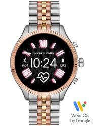 Michael Kors Smartwatch Gen 5 Lexington im Silberton - Mettallic