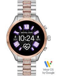"""Michael Kors - Touchscreen Smartwatch Lexington """"MKT5081"""" - Lyst"""