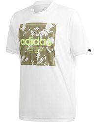"adidas T-Shirt ""Camoufalge Box"" - Weiß"