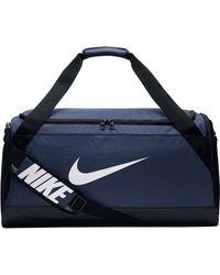Nike Brasilia Duffel Sporttasche Medium - Blau