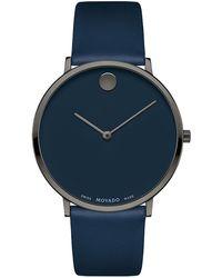 """Movado Uhr Modern """"0607392"""" - Blau"""
