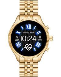 """Michael Kors - Touchscreen Smartwatch Lexington """"MKT 5078"""" - Lyst"""