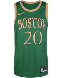 Nike NBA City Edition Boston Celtics Gordan Hayward Basketballtrikot - Grün