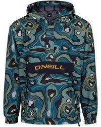 O'neill Sportswear Windbreaker Modernist Reißverschluss - Grün