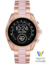 Michael Kors BRADSHAW, MKT5090 Smartwatch (mit individuell einstellbaren Zifferblättern) - Mettallic