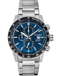 "Citizen Chronograph ""AN3600-59L"" - Blau"