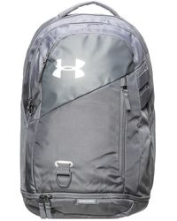 Under Armour UA Hustle 4.0 Rucksack - Grau