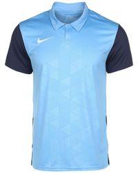 Nike Trophy IV Fußballtrikot - Blau