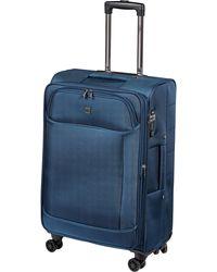 Globe-Trotter 4 Rollen Trolley X'line Traveller - Blau