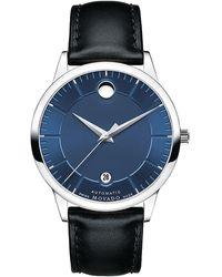 "Movado Uhr 1881 Automatic ""607020"" - Mettallic"