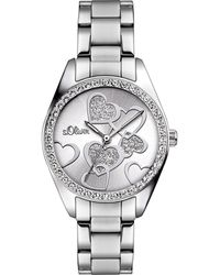 "S.oliver Uhr ""SO-2857-MQ-P"" - Mettallic"