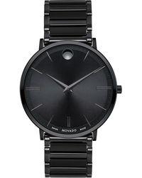 Movado Schweizer Uhr ULTRA SLIM 607210 - Schwarz