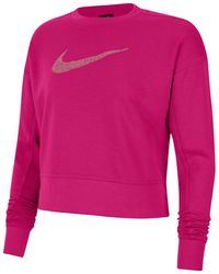 Nike Funktionssweatshirt DRI-FIT GET FIT Dri-FIT - Pink