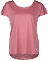 Nike Pro Dri-FIT Trainingsshirt - Pink