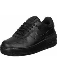 Nike Air Force 1 315122 Herren Low-Top Sneaker - Schwarz