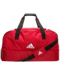 adidas Tiro Bottom Compartment Large Fußballtasche - Rot