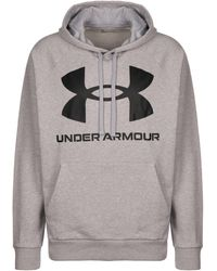 "Under Armour - Hoodie ""Rival Fleece"" - Lyst"