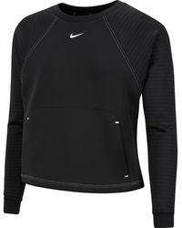 "Nike Dri-FIT Sweatshirt ""Pro"" - Schwarz"