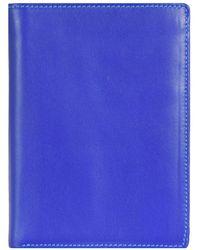 Mywalit Continental Wallet Geldbörse Leder 13 cm - Blau