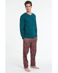 Arthur Pyjama long Nouv'Elan - Bleu