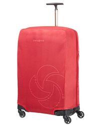 Samsonite Housse de protection pour valise M/L - Rouge