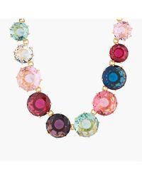 Les Nereides Collier Sautoir Pierres Rondes La Diamantine Multicolore