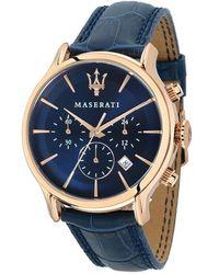Maserati Montre Homme Epoca - Bleu
