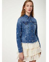 Liu Jo Veste en jean écoconçu - Bleu