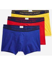 Polo Ralph Lauren Lot de 3 shortys siglés - Multicolore