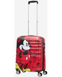 American Tourister - Valise rigide cabine Wavebreaker Disney 4R 55 cm - Lyst