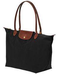 Longchamp Sac porté épaule L Le Pliage - Noir