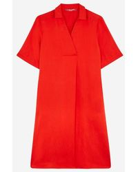 Marina Rinaldi - Robe Disporre ample rouge - Lyst