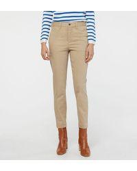 Polo Ralph Lauren Pantalon crop Brooke chino skinny - Neutre