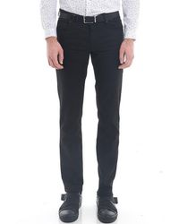 IKKS Jeans en coton enduit slim fit - Noir