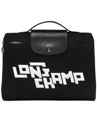 Longchamp Pochette Le Pliage LGP - Noir
