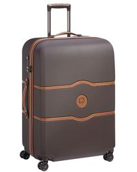 Delsey Valise rigide trolley Chatelet Air 4R 77 cm - Marron