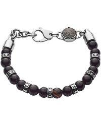 DIESEL Bracelet Homme Studs - Noir