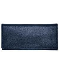 Longchamp Portefeuille à rabat Le Foulonné - Bleu