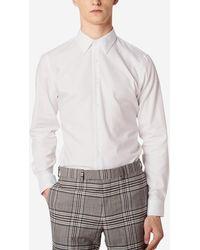 Sandro Chemise coton droite - Blanc