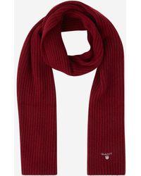 GANT - Écharpe tricotée en laine - Lyst