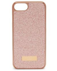 Ted Baker Coque Sparkls Glitter iPhone 6/6s/7/8 case - Rose