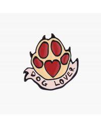 N2 Pin's Dog Lover - Marron