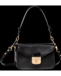 Longchamp Sac porté épaule Mademoiselle - Noir