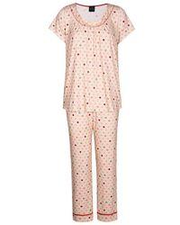 Lingerie LE CHAT Pyjama à pois MICKIE 802 - Rose